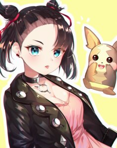 Rating: Safe Score: 17 Tags: cleavage dress mary_(pokemon) morpeko pokemon pokemon_sword_and_shield smile2007h User: Dreista