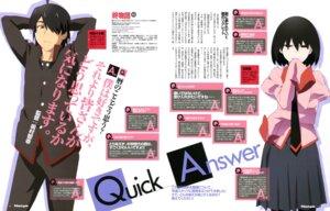 Rating: Safe Score: 20 Tags: ajiki_kei araragi_koyomi bakemonogatari oshino_ougi owarimonogatari seifuku User: drop