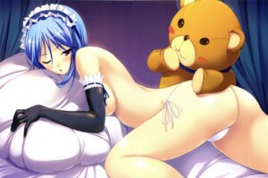 Rating: Questionable Score: 83 Tags: akamaru ass maid pantsu string_panties thong topless User: admin2