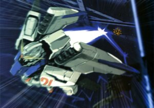 Rating: Safe Score: 9 Tags: gundam gundam_f91 gundam_f91_(mecha) mecha User: drop