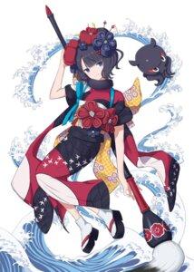 Rating: Safe Score: 26 Tags: fate/grand_order katsushika_hokusai_(fate/grand_order) kimono laika_(sputnik2nd) User: Nepcoheart