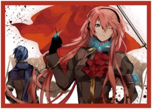 Rating: Safe Score: 27 Tags: arisaka_ako headphones kaito megurine_luka vocaloid User: Radioactive