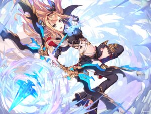 Rating: Safe Score: 61 Tags: granblue_fantasy nikkunemu thighhighs weapon User: blooregardo