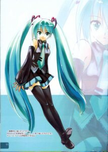 Rating: Safe Score: 13 Tags: hatsune_miku rei rei's_room thighhighs vocaloid User: Davison