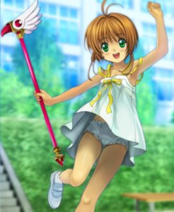 Rating: Questionable Score: 37 Tags: card_captor_sakura dress kinomoto_sakura loli moonknives pantsu summer_dress User: bluestorm
