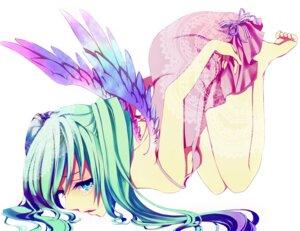 Rating: Safe Score: 26 Tags: dress hatsune_miku macco vocaloid wings User: charunetra