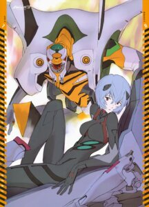 Rating: Safe Score: 21 Tags: ayanami_rei bodysuit calendar honda_takeshi neon_genesis_evangelion User: drop