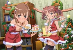 Rating: Safe Score: 42 Tags: christmas hara_shuuichi misaka_mikoto shirai_kuroko thighhighs to_aru_kagaku_no_railgun to_aru_majutsu_no_index User: Shuugo