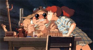 Rating: Safe Score: 12 Tags: bloomers kurenai_no_buta megane studio_ghibli User: vietnam