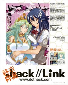 Rating: Safe Score: 11 Tags: .hack// .hack//link kikuya_megane User: Aurelia