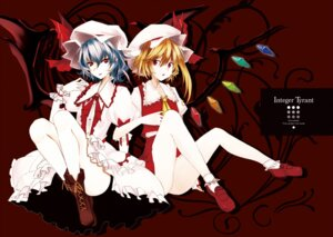 Rating: Questionable Score: 13 Tags: flandre_scarlet remilia_scarlet takaharu touhou User: admin2
