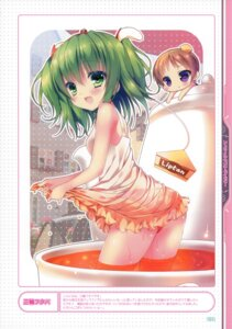 Rating: Questionable Score: 40 Tags: dress liptan miwa_futaba pantsu wet_clothes User: fireattack