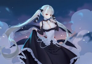 Rating: Safe Score: 29 Tags: azur_lane formidable_(azur_lane) jpeg_artifacts no_bra skirt_lift tagme User: BattlequeenYume