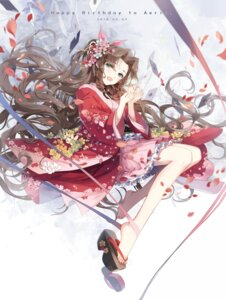 Rating: Safe Score: 47 Tags: aerith_gainsborough final_fantasy final_fantasy_vii japanese_clothes kieta User: Mr_GT