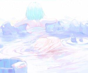 Rating: Questionable Score: 17 Tags: ass bathing koi_han onsen see_through towel wet User: Dreista