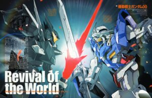 Rating: Safe Score: 6 Tags: arisawa_hiroshi gundam gundam_00 mecha User: Radioactive