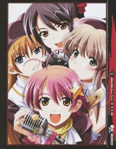 Rating: Safe Score: 4 Tags: isurugi_chie kashiwara_sarina katakura_shinji kira_kira maejima_shikanosuke shiino_kirari User: Moonworks