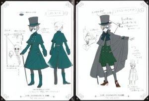 Rating: Safe Score: 7 Tags: character_design ciel_phantomhive kuroshitsuji male monochrome User: charunetra