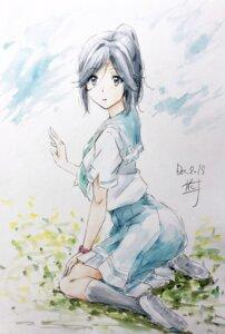 Rating: Safe Score: 14 Tags: hibike!_euphonium kasaki_nozomi liz_to_aoi_tori nii_manabu seifuku sketch User: Dreista