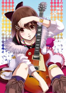 Rating: Safe Score: 29 Tags: guitar hirasawa_yui k-on! uzura_yuuno User: fairyren