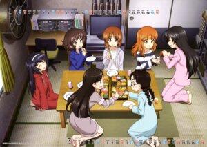 Rating: Safe Score: 11 Tags: akiyama_yukari calendar fukuda_(girls_und_panzer) girls_und_panzer isuzu_hana megane nishi_kinuyo nishizumi_miho pajama reizei_mako takebe_saori User: drop