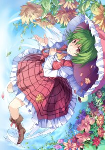 Rating: Safe Score: 28 Tags: dress heels kazami_yuuka pico_(artist) touhou umbrella User: Mr_GT