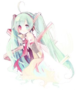 Rating: Safe Score: 11 Tags: hatsune_miku heterochromia kashiwaba_hisano vocaloid User: Radioactive