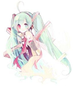 Rating: Safe Score: 12 Tags: hatsune_miku heterochromia kashiwaba_hisano vocaloid User: Radioactive