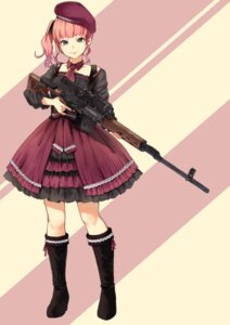 Rating: Safe Score: 22 Tags: funyariko gun heels User: saemonnokami