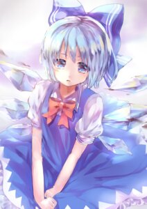 Rating: Safe Score: 28 Tags: cirno dress hoshi_no_yurara touhou wings User: Mr_GT