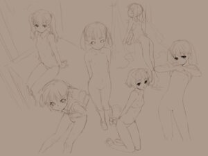 Rating: Explicit Score: 24 Tags: aburaya kawata_hisashi loli monochrome naked nipples sketch wallpaper User: fireattack