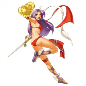 Rating: Safe Score: 14 Tags: ass athena_(series) bikini eisuke_ogura feet princess_athena snk swimsuits sword User: majoria