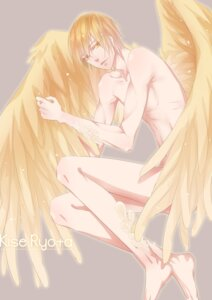 Rating: Questionable Score: 8 Tags: azai kise_ryouta kuroko_no_basket male naked wings User: charunetra