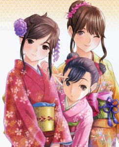 Rating: Safe Score: 43 Tags: anegasaki_nene kimono kobayakawa_rinko love_plus mino_taro takane_manaka User: fireattack