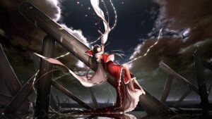 Rating: Safe Score: 13 Tags: cinkai hakurei_reimu miko touhou User: RyuZU