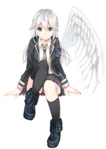 Rating: Questionable Score: 56 Tags: pantsu seifuku sencha wings User: nphuongsun93