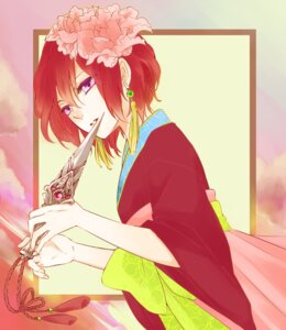 Rating: Safe Score: 9 Tags: akatsuki_no_yona asian_clothes hetzosh weapon yona User: charunetra
