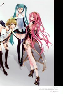 Rating: Safe Score: 44 Tags: color_issue hatsune_miku kagamine_rin megurine_luka redjuice vocaloid User: Radioactive