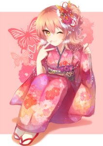 Rating: Safe Score: 52 Tags: jougasaki_mika kaenuco kimono the_idolm@ster the_idolm@ster_cinderella_girls User: Mr_GT