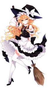 Rating: Safe Score: 32 Tags: heels kirisame_marisa sheya skirt_lift thighhighs touhou witch User: charunetra