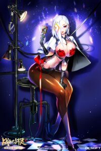 Rating: Questionable Score: 47 Tags: blade_&_soul cleavage heels imp nc_soft no_bra pantyhose watermark User: mash