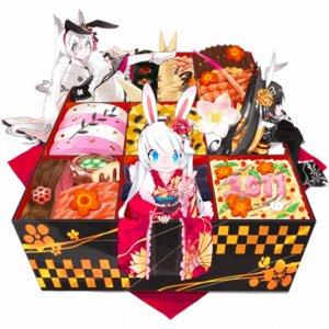 Rating: Safe Score: 30 Tags: animal_ears bunny_ears kimono mizushirazu User: fireattack