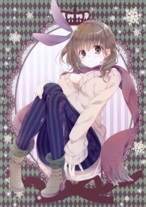 Rating: Questionable Score: 24 Tags: cleavage heels inugami_kira necotoxin no_bra pantyhose sweater User: Radioactive