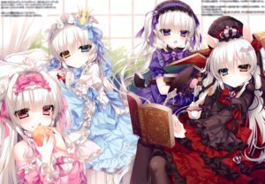 Rating: Safe Score: 30 Tags: animal_ears dress gothic_lolita heterochromia lolita_fashion pointy_ears tsukikage_nemu User: kiyoe