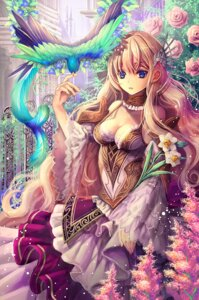 Rating: Safe Score: 57 Tags: cleavage dress tamarashi User: blooregardo