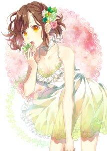 Rating: Questionable Score: 18 Tags: bra cleavage dress kotori_(gokigen_iori) nopan see_through summer_dress User: BattlequeenYume