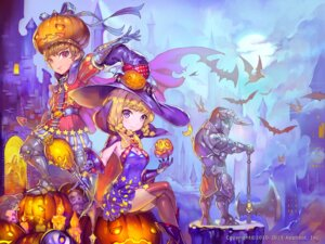 Rating: Safe Score: 26 Tags: armor cleavage dress halloween ozma_(ozmakku) thighhighs weapon witch User: Mr_GT