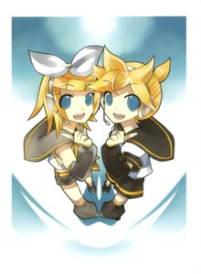 Rating: Safe Score: 5 Tags: kagamine_len kagamine_rin kei vocaloid User: fireattack