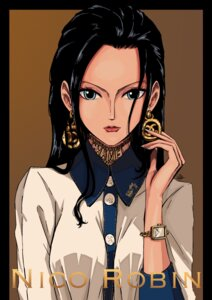 Rating: Safe Score: 17 Tags: nico_robin one_piece sheru_maru. User: charunetra