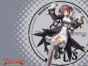Rating: Safe Score: 23 Tags: berry's hashimoto_takashi tatsumi_wakaba thighhighs waitress wallpaper User: admin2